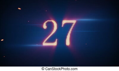 twitching numbers countdown