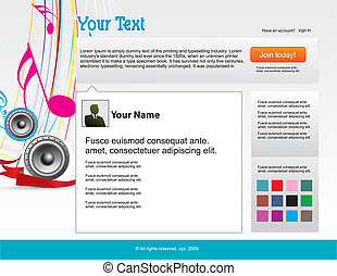 twitter themes website design template background, vector...