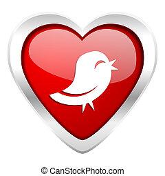 twitter valentine icon