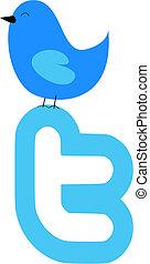twitter, vogel