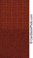 Two abstract brown backgrounds