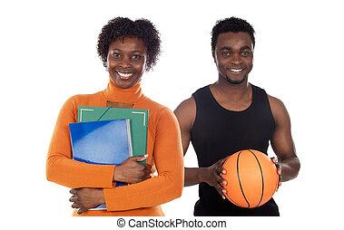 Two african american teachers