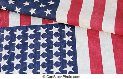 two American flags