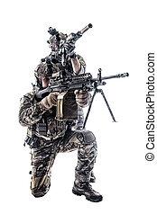 Army Rangers in field Uniforms - Two Army Rangers in field...