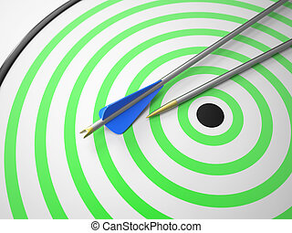 Two Arrows on Target
