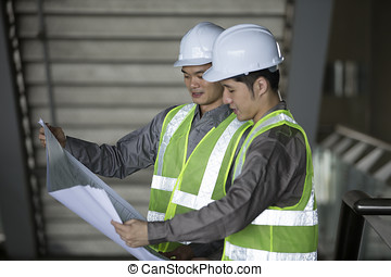 Male Hispanic Air Conditioning Maintenance Technician