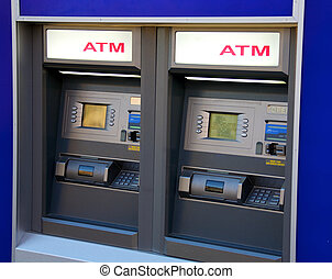 ATM - Two ATM machines waiting to be used
