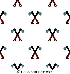 Two axes pattern flat