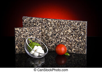 Two beautiful granite sample for kitchen countertop