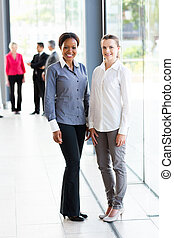 multiracial business women