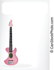 Two Beautiful Ukulele Guitar with A White Banner