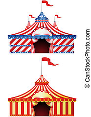 Big Top Circus - Two Big Top Circus in different styles