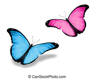 pink butterfly illustrations and clip art 19 312 pink butterfly rh canstockphoto com pink butterfly outline clipart pink butterfly border clipart
