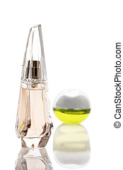 Two bottles of perfume