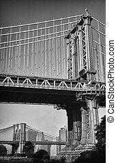 Two bridges.