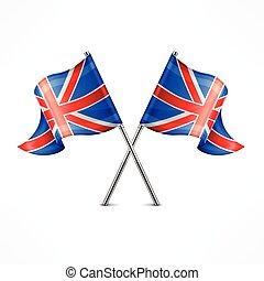 Two British flag