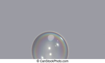 Two Bubble Bursting Clips - Two clips of bubbles bursting...