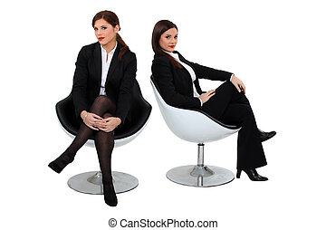 Two businesswomen