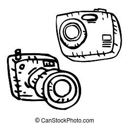 Two cameras - Creative design of two cameras
