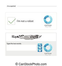 two captchas - Captcha is a Completely Automated Public ...