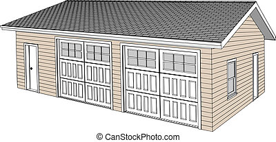 Two Car Detached Garage