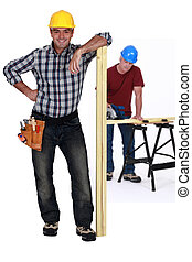 Two carpenters