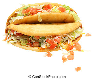 Two Chalupas Over White