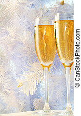 Two champagnes