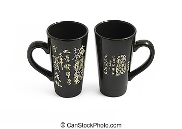 Two chinese cups for tea