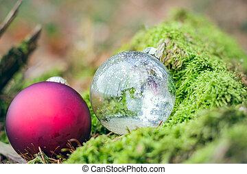 two christmas balls II