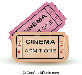 Two cinema tickets