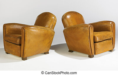 Two Club Chairs