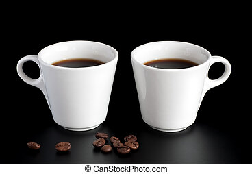 two coffee