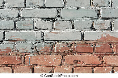 Two color brick wall texture