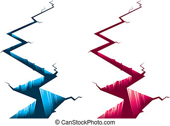two color chasm.
