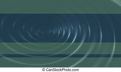 Two color ripple loop - Two color ripple blue green animated...