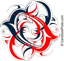 two-colors, vorm