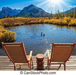 Indian summer in the Rocky Mountains - Two comfortable...