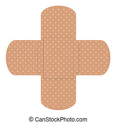 Two cross patches