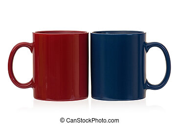 Two cups for tea or coffee
