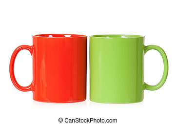 Two cups for tea