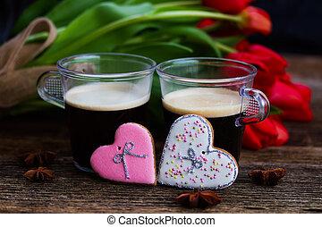 Valentines day coffee