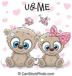 Two cute Bears
