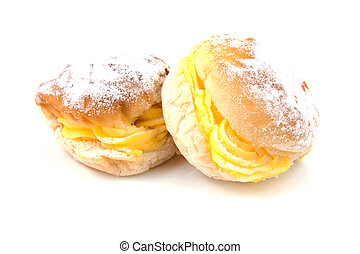 delicious cream sandwiches