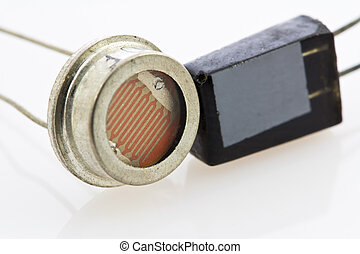 two different types of semiconductor sensors, magnetic ...