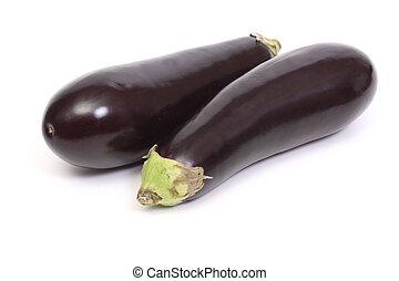 Two eggplant