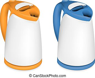 Two electric kettle