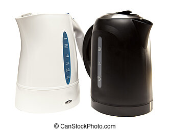 two electric tea kettle