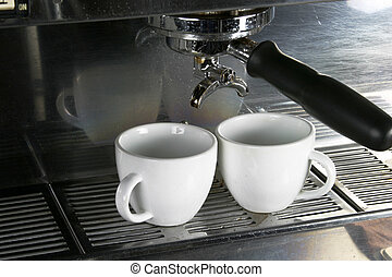 Two Espresso Cups