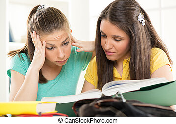 Two Female students